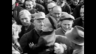 Duitse Veteranen na 10 jaar in Russische werkkampen terug naar huis
