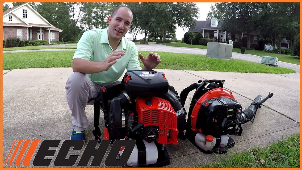 Stihl Blower 770 : Echo s brand new pb vs backpack blower