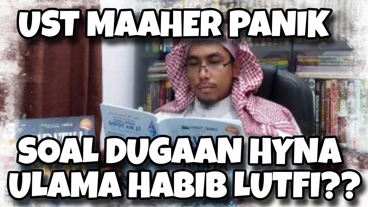 Ustad Maheer Panik Dan Mengelak Soal Dugaan Menghyna Ulama Habib Luthfi Youtube