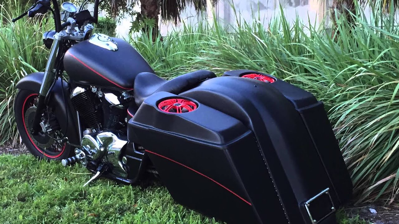 Custom Honda Shadow Bagger For Sale $6975 OBO - YouTube