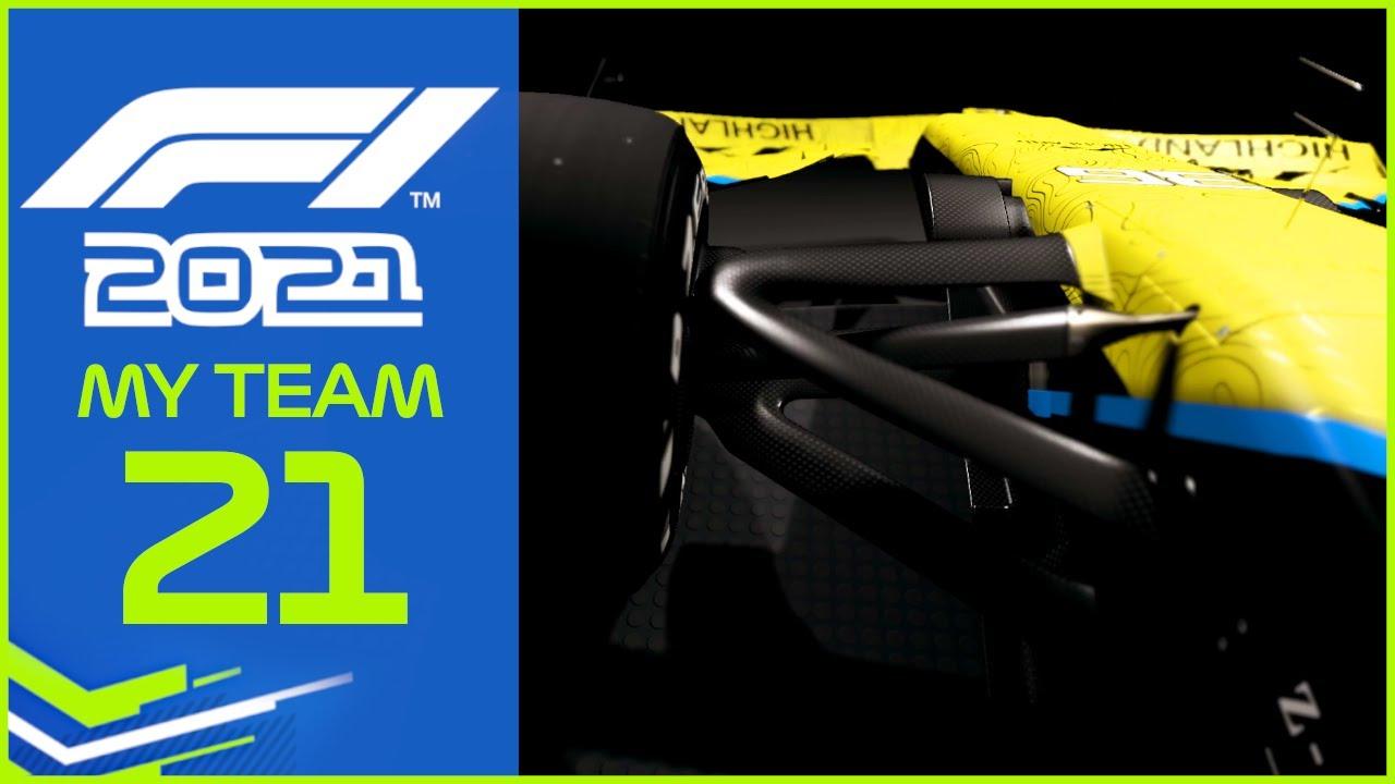 F1 2021 MyTeam KARRIERE #21: Die 2. Saison beginnt!