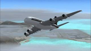 fsx singapore airlines hong kong to singapore