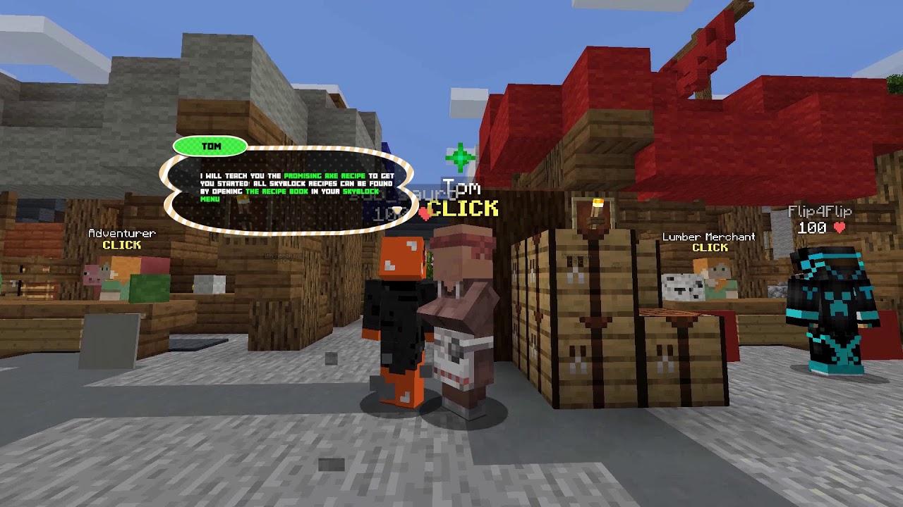 Hypixel Skyblock #1 - Learning The Basics | Hypixel - Minecraft