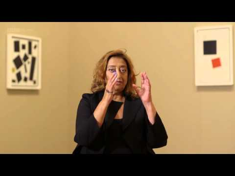1/2 (with sound)Zaha Hadid on Kazimir Malevich - Secret Knowledge