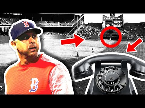 The History Of Sign Stealing In Major League Baseball