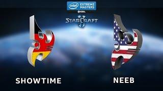 StarCraft 2 - ShoWTimE vs. Neeb (PvP) - IEM Shanghai - Semifinal