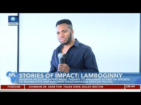 Nigerian Musician Offers Music Therapy To Prisoners | Africa's Future Leaders |