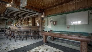 Abandoned Belgian café  from the 1950's