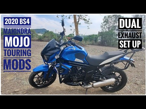 2020 Mahindra Mojo 300 ABS BS4 | Part 2 | Touring Mods Review | Dual Exhaust Set up | DNA VLOGS