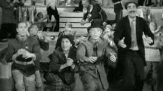 """This Country's Going to War""- Duck Soup sequence"