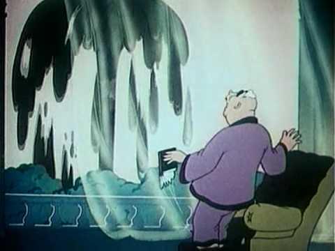Animated Soviet Propaganda - American Imperialist: Mr. Wolf