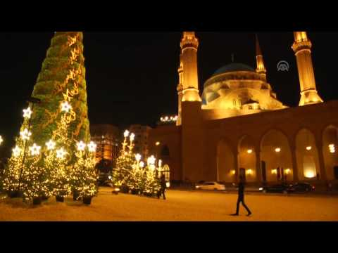 Christmas preparations in Lebanon