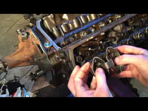 Installing pushrods and rocker arms