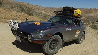 'Peking-to-Paris' Rally Prepped Datsun 240Z - (Street/Dirt) One Take(Chris Bury and his father have spent the last year restoring and modifying their 1973 Datsun 240Z for the 10000-mile, 37-day Peking-to-Paris Rally, one of the ..., 2016-05-09T11:00:03.000Z)
