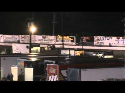 2011 LEBANON VALLEY SPEEDWAY MR DIRT TRACK USA FEATURE 100 LAPS FINISH