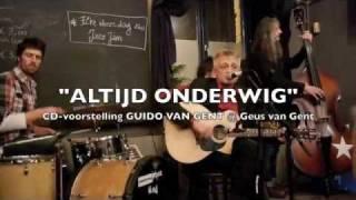 CD-voorstelling Gido Van Gent 21/01/2012