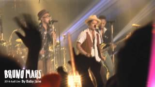 Bruno Mars [Runaway Baby] @ 2014 Audi Live in Seoul - By Baby Jane♥