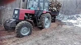 Mtz 892 erdőn