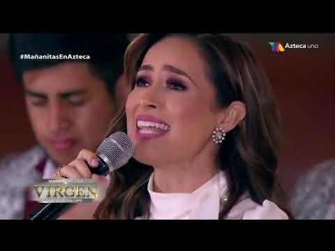 Cynthia Rodriguez | Llegaste Tu | Mañanitas A La Virgen | Tv Azteca 2018