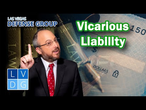 """What is """"vicarious liability"""" in Nevada?"""