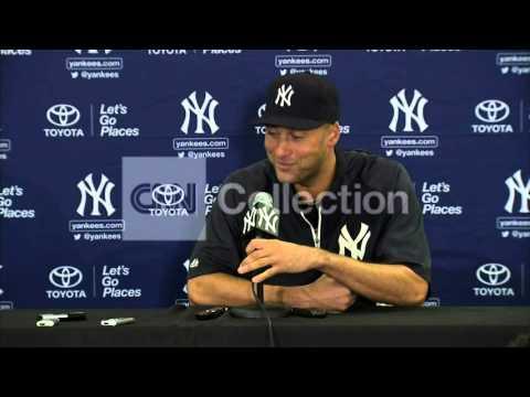 MLB: YANKEES PRESSER DEREK JETER RETIREMENT