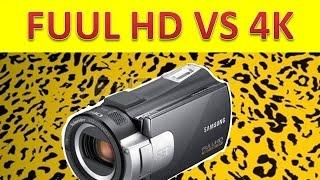 Видео формат 4K против FULL HD, что выбрать?