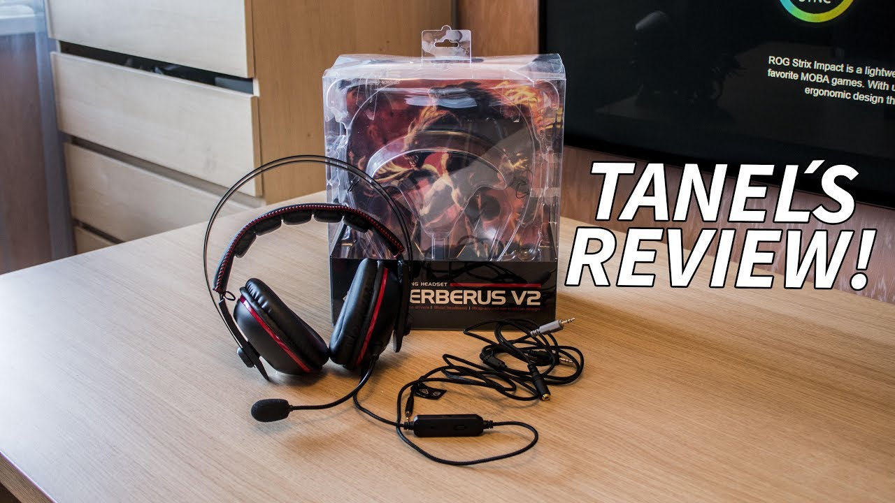 2620b5be370 The ASUS Cerberus V2 Gaming Headset Review by Tanel - YouTube