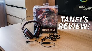 The ASUS Cerberus V2 Gaming Headset Review by Tanel
