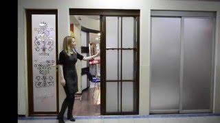 Раздвижные двери с гравированным стеклом и фацетом.(http://door-lux.ru/razdvizhnye-dveri/... Раздвижные двери с гравированным стеклом и фацетом. Описание: Полотно: ламинация..., 2016-02-29T13:46:11.000Z)