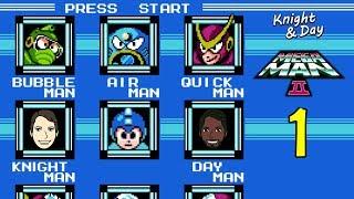 Throwback Thursdays - Mega Man 2 Gameplay Walkthrough Part 1 - Classic Mega Man Fun