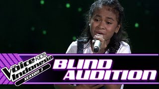 Angel - Don't You Remember | Blind Auditions | The Voice Kids Indonesia Season 3 GTV 2018