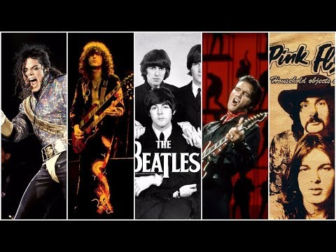 Top 10 Highest Selling Music Artists of All Time