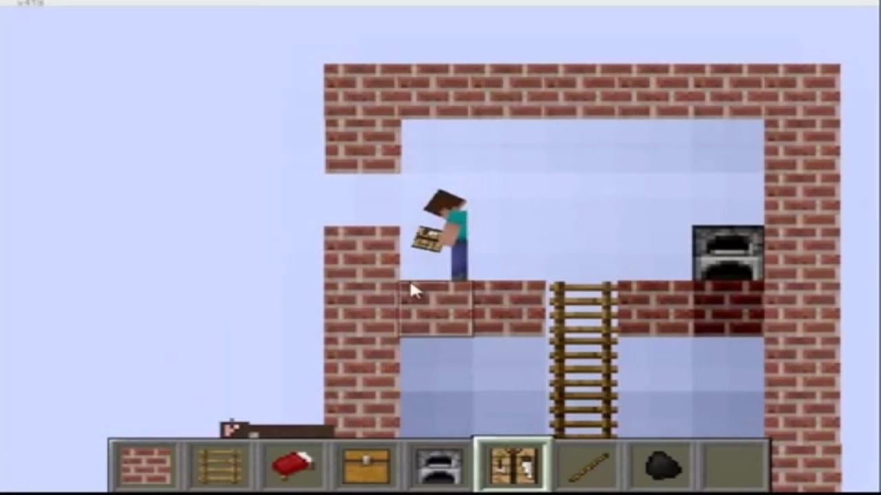 Minecraft Paper Minecraft V8 9b 2d Minecraft Youtube