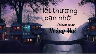 HẾT THƯƠNG CẠN NHỚ (ĐỨC PHÚC)| 情已断爱已了 (CHINESE COVER)| HOÀNG MAI