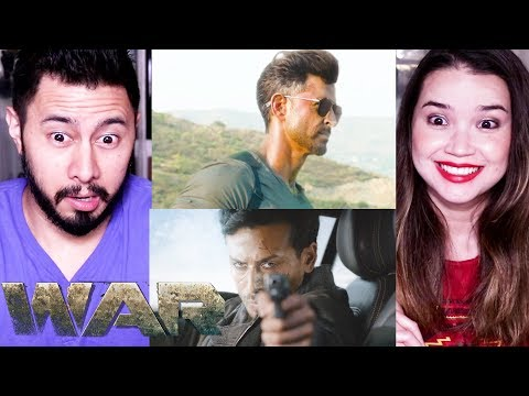 WAR | Hrithik Roshan | Tiger Shroff | Teaser Reaction by Jaby Koay! Mp3