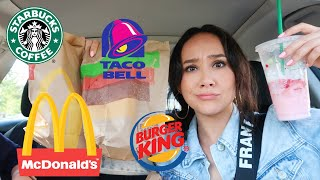 Letting fast food EMPLOYEES DECIDE what I eat for THE DAY