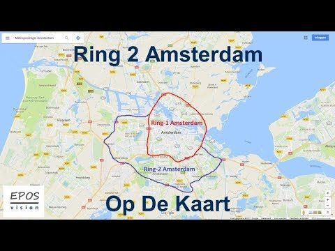 Ring2 Amsterdam Op De Kaart Youtube