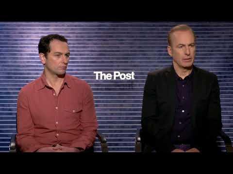Bob Odenkirk Matthew Rhys interview The Post streaming vf
