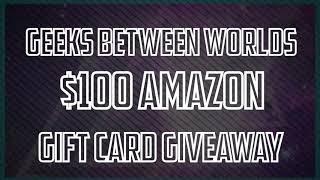 $100 Amazon Giftcard Winner Announcement!