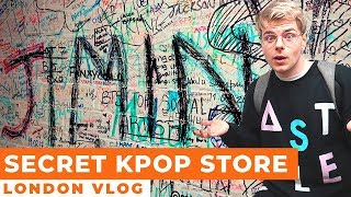 London's Secret Underground Kpop Store vlog