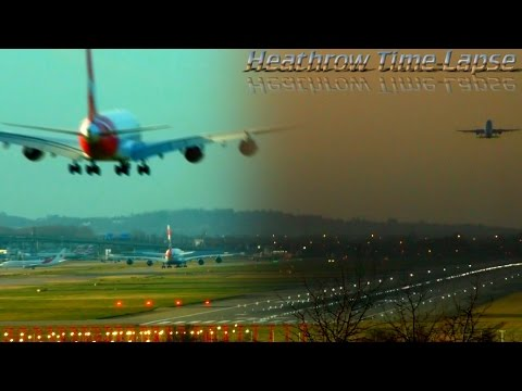 London Heathrow Time Lapse|26 December 2016