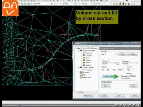 Road - DTM - Land Surveying Software - Civil Software