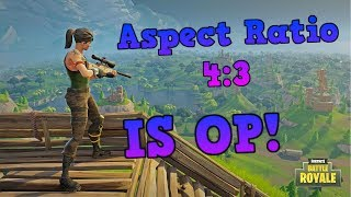 (Nvidia Only) A Guide on How to Get a 4:3 Aspect Ratio Resolution on Fortnite Battle Royale