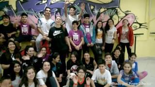 estudio de danzas urbanas hh adolescentes nivel 1 y 2 tributo a michael jackson sgo del estero