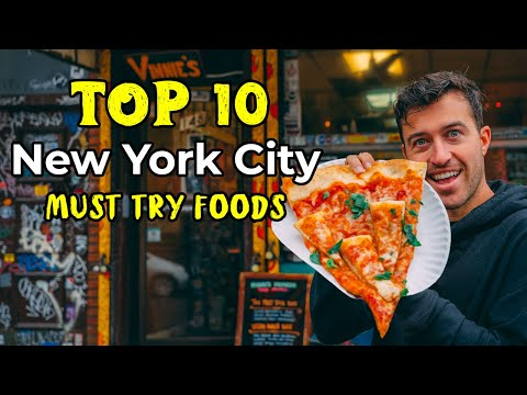 Top 10 NYC Foods You MUST try Before you DIE