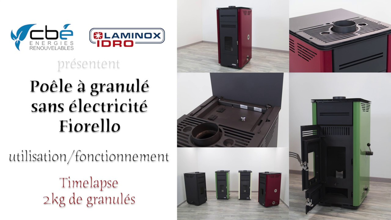 cas pratique n 1 fiorello poele a granule sans electricite youtube. Black Bedroom Furniture Sets. Home Design Ideas