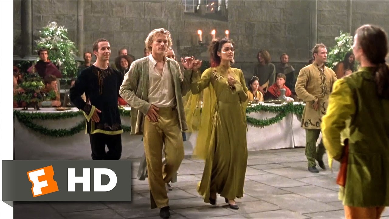 knights tale Unlike the moribund western and the sword-and-sandals roman epic, recently revived by gladiator, the medieval romance has been constantly with us ever since herbert beerbohm tree filmed scenes.