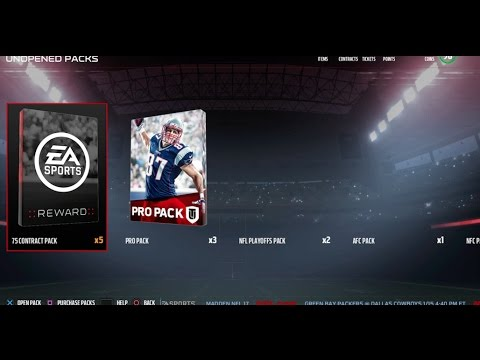 Madden 17: Playoff Solos Pack Opening LTD PULL!!!!!!!