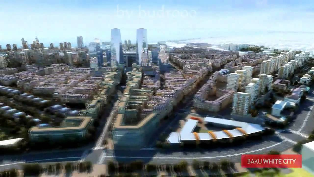 баку белый город фото