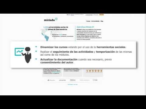 Presentación Curso: Como hacer un MOOC en Miríada X